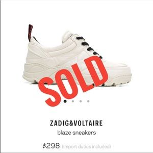 SOLD!!! Don't buy!!!!!Zadig & Voltaire Woman's